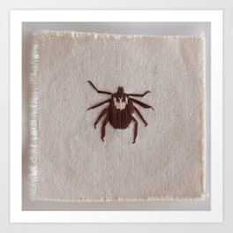 Dog Tick Art Print