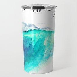 Sea The Good Travel Mug