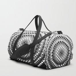 Black and white chessboard Duffle Bag
