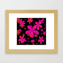 Flower Power 2 Framed Art Print