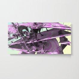 Candy Crustaceans (3D Fractal Digital Art) Metal Print