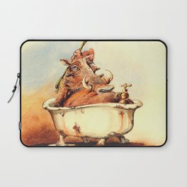 warthog's bath Laptop Sleeve