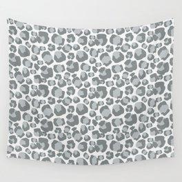 Snow Leopard Feline Wall Tapestry