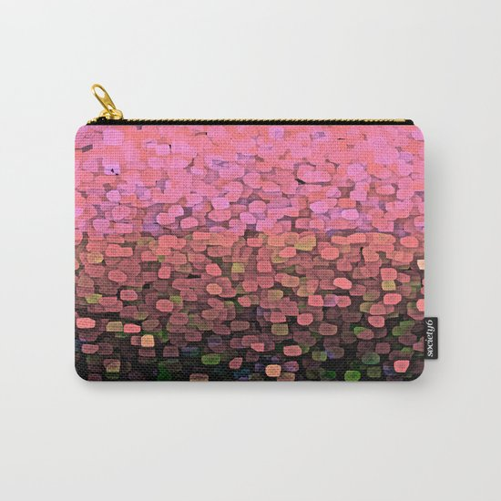 Sparkles and Glitter Pink Carry-All Pouch