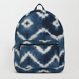 Shibori, tie dye, chevron print Backpack