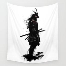 Armored Samurai Wall Tapestry