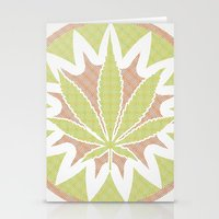 cannabis Stationery Cards featuring The Cannabis Case. by Space Jungle