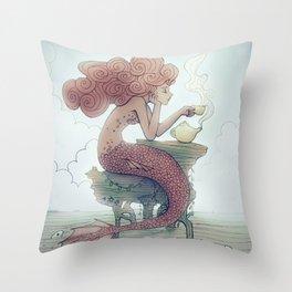 Tea Time Throw Pillow