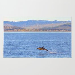 Porpoise in Pursuit Rug