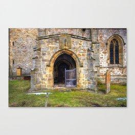 Holy Trinity Church, Wensley Canvas Print