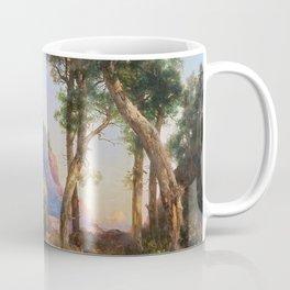 Mountain Lion In Grand Canyon - Thomas Moran Coffee Mug