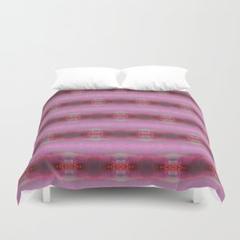 Pink glow 2 Duvet Cover