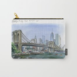 Brooklyn Bridge in August Carry-All Pouch