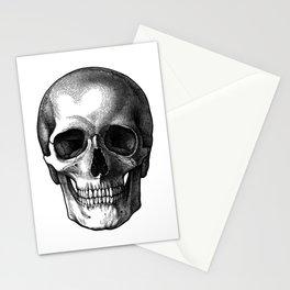 Head Skull Stationery Cards
