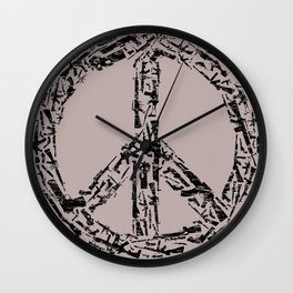 Peace? Wall Clock