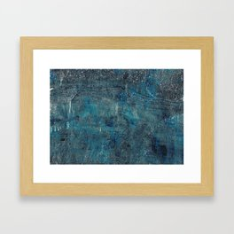 Celestite Canyon Framed Art Print