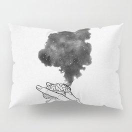 Burning mind. Pillow Sham