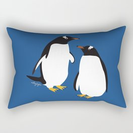 Gentoo penguin Rectangular Pillow