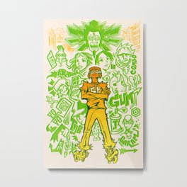 Tokyo-to Metal Print