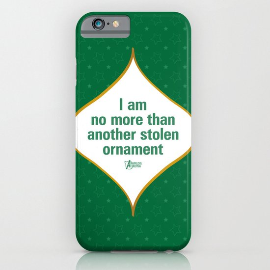 I am no more than another stolen ornament iPhone & iPod Case
