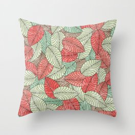 Let the Leaves Fall #12 Throw Pillow