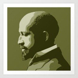W.E.B. DuBois Art Print