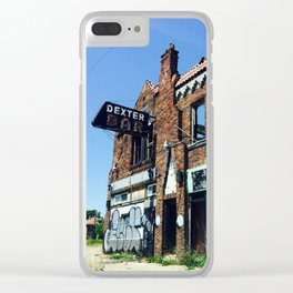 Dexter Bar Clear iPhone Case