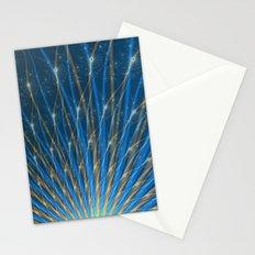 Fractal Fireworks Stationery Cards