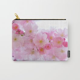 Pink Japanese Cherry Tree Blossom Carry-All Pouch