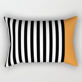 Liquorice allsorts, orange Rectangular Pillow