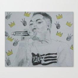 Samo Lamar Canvas Print
