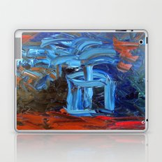 Blue Flower Laptop & iPad Skin