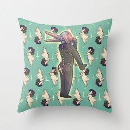 BUTTS 2 Throw Pillow