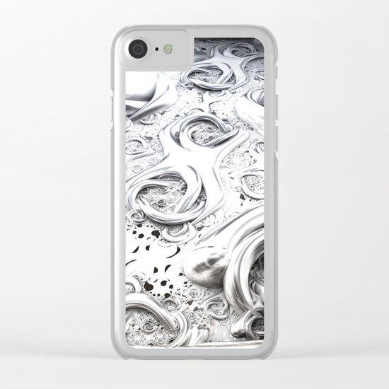 Chromeland Clear iPhone Case