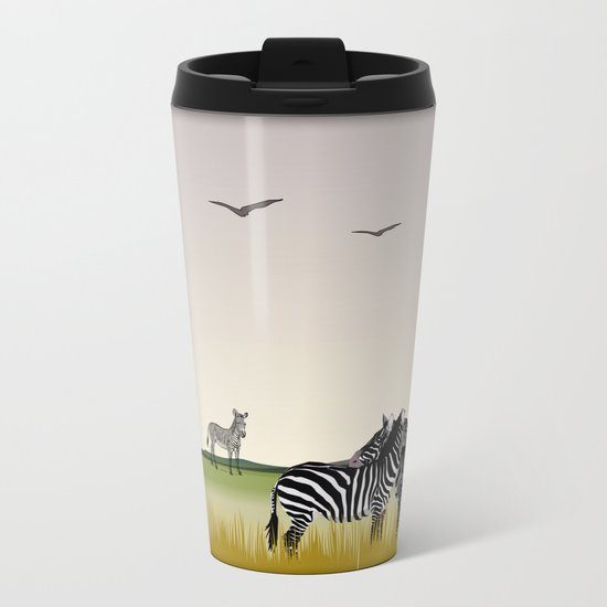 animal Metal Travel Mug
