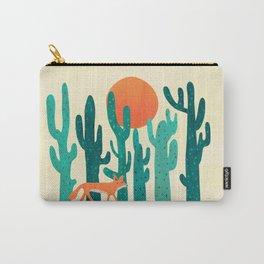 Desert fox Carry-All Pouch