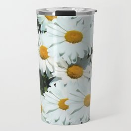Daisies explode into flower Travel Mug
