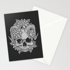 Japanese Skull Stationery Cards