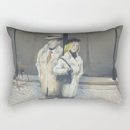 Midnight in Paris Rectangular Pillow