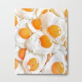 An Eggsellent Breakfast Metal Print