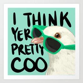 Bird no. 477: Pretty Coo Art Print