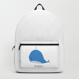 Oh whale! Backpack