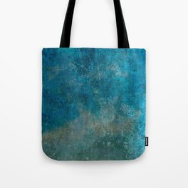 Blue Gray grunge | Grungy | Blue coral | Grunge Decor Tote Bag