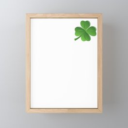 Naughty Feck It Lets Drink Irish Drunk Ireland Framed Mini Art Print