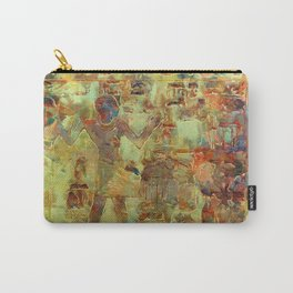 Amenemhat and Hemet Gold Carry-All Pouch