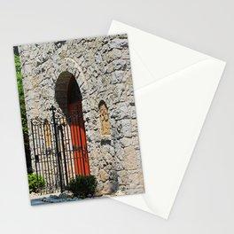 Lourdes University-  Portiuncula  Chapel Doors II Stationery Cards