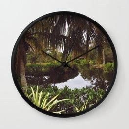 Naples Caribbean Gardens Wall Clock