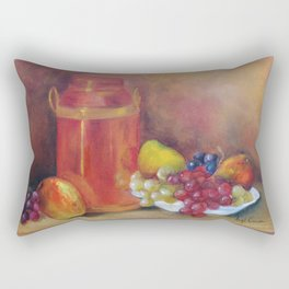 Composição com frutas I (Composition with fruits I) Rectangular Pillow