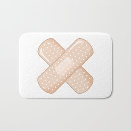 Get Well Bandaid Bath Mat