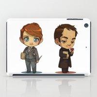 crowley iPad Cases featuring Naomi & Crowley by Ravenno